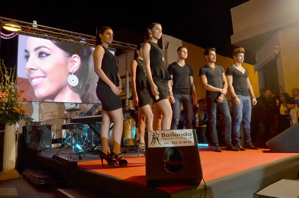 Pantalla LED para desfile de Moda en Candelaria, Tenerife