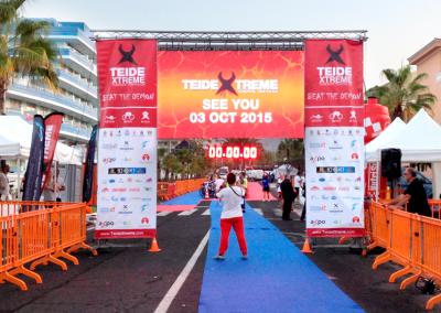 Alquiler de pantalla LED para eventos deportivos en Canarias – TeideXtreme '14