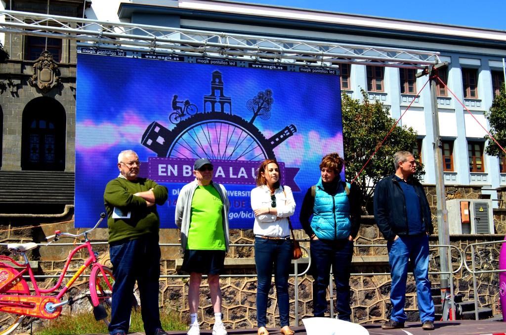 Día de la Bici en la ULL