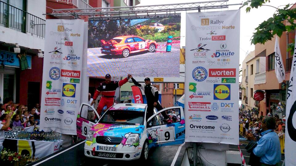Magik en el Rallye Orvecame Norte 2015
