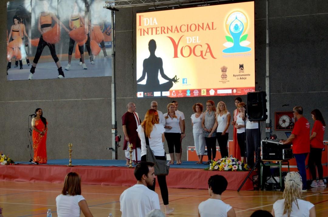 1º Día Internacional del Yoga en Adeje