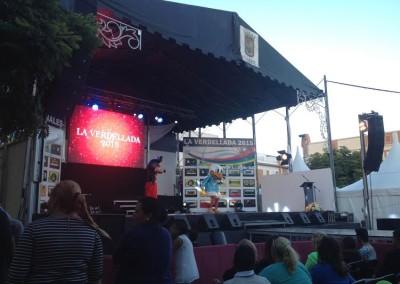 Magik en Las Fiestas de La Verdellada 2015