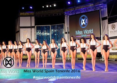 Míster Internacional y Miss World Tenerife 2016