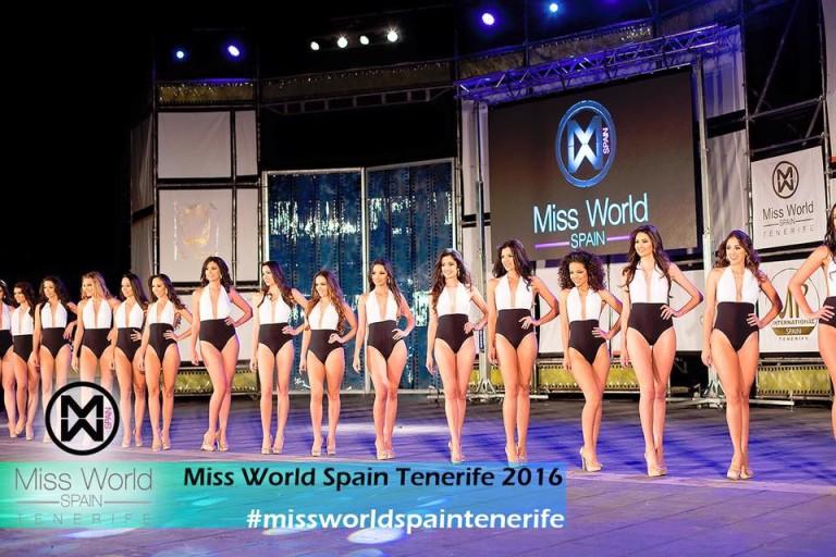Míster Internacional y Miss World Tenerife 2016