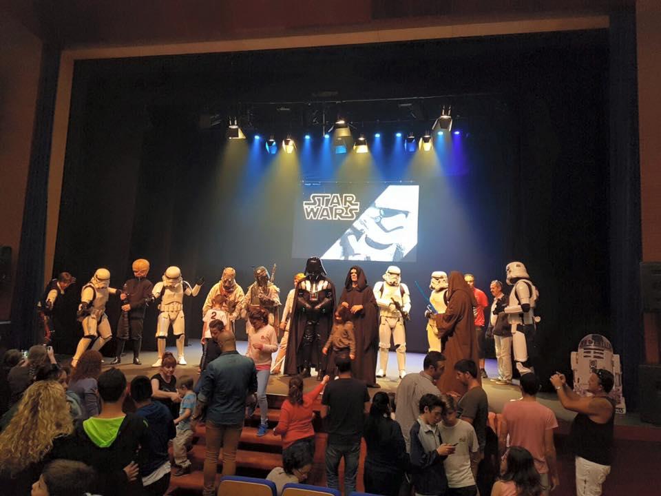 Homenaje a Stars Wars en el Auditorio de Tacoronte