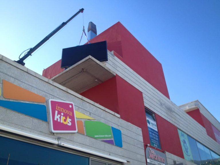 Nueva ubicación de nuestra Pantalla LED en San Jerónimo