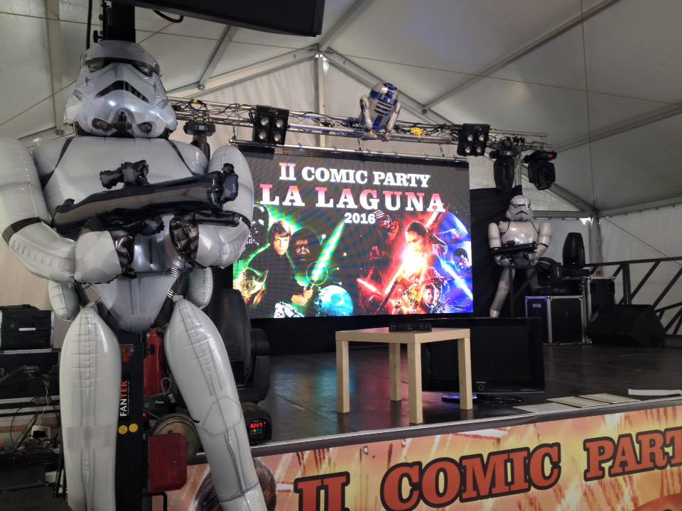 II Cómic Party La Laguna 2016