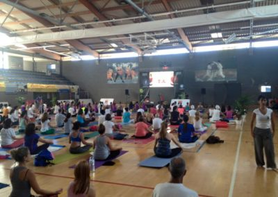 II Día internacional del Yoga