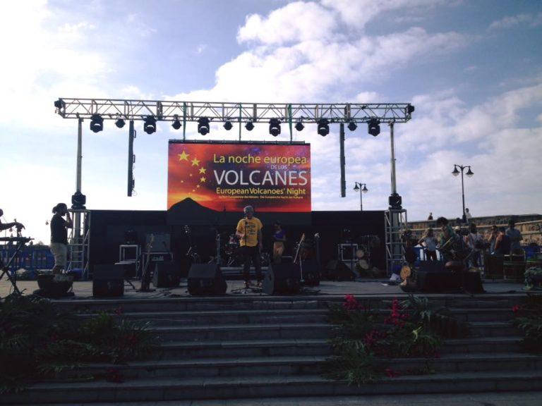 Noche Europea de Los Volcanes Puerto de La Cruz