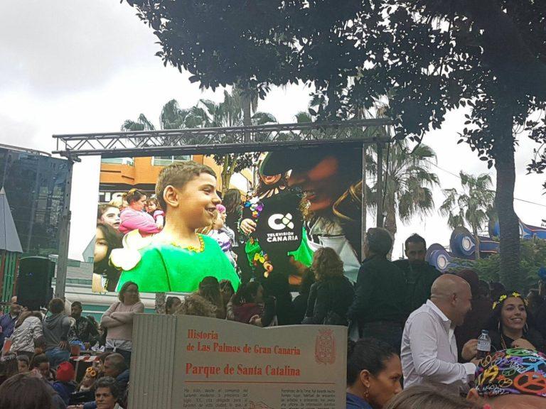 Tv Canaria Coso Infantil Las Palmas de Gran Canaria 2017