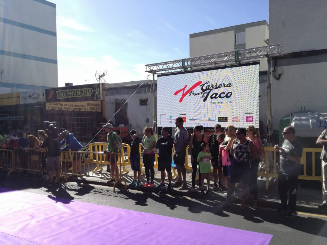 V Carrera Popular de Taco 2017