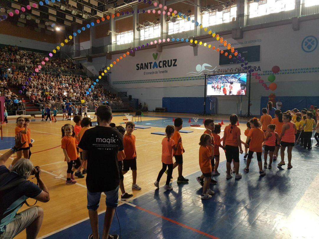 Clausura Escuelas Deportivas Santa Cruz de Tenerife