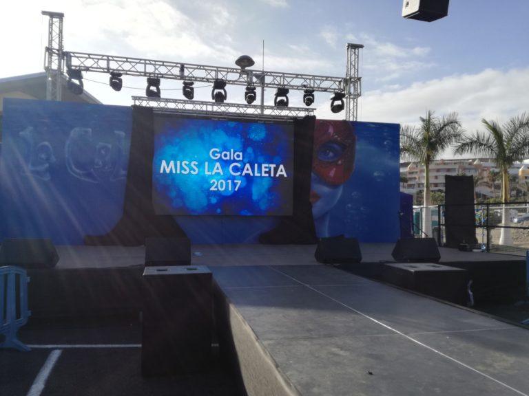 Gala Miss La Caleta 2017
