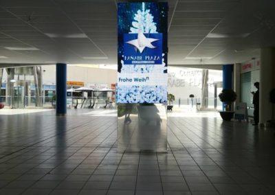 Instalación Pantalla LED P4 C.C. Fañabé Plaza