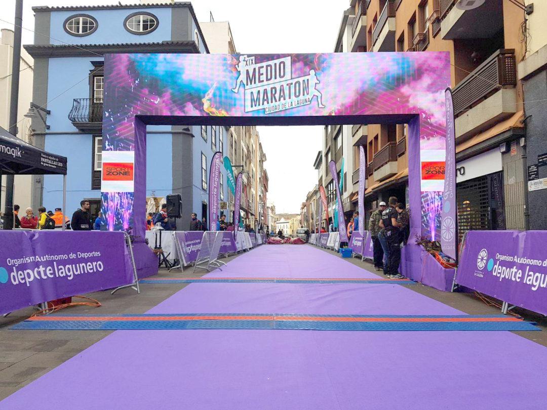 XIX Medio Maraton La Laguna 2018