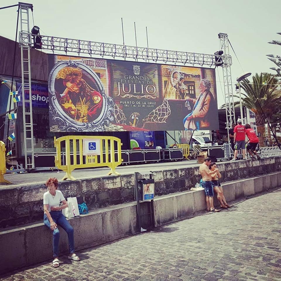 Fiestas de Julio Puerto de La Cruz 2018
