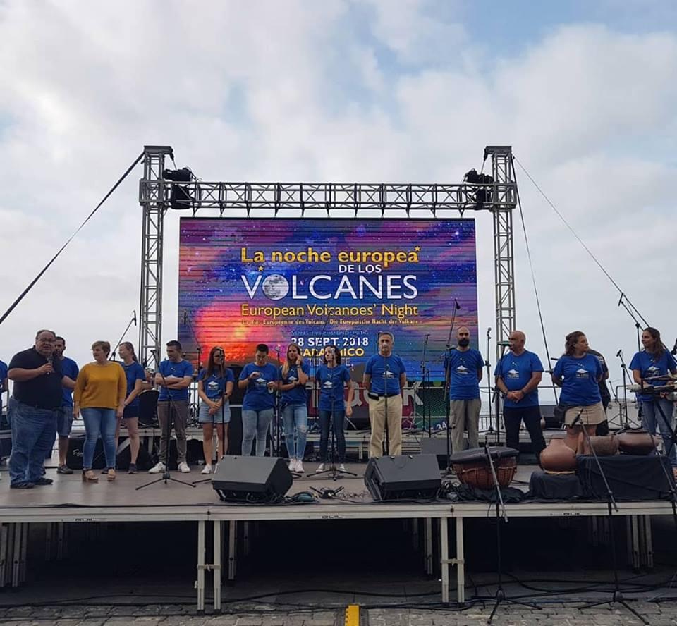 La Noche de Los Volcanes, Garachico 2018