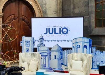 Fiestas de Julio 2021, Puerto de La Cruz